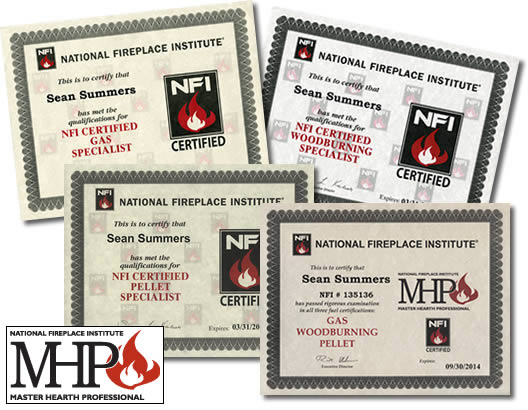 NFI Master Hearth Professionals (MHP) Certified